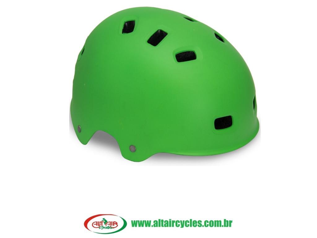 CAPACETE CYCLETRACK BIKE/SKATE VERDE TAM M