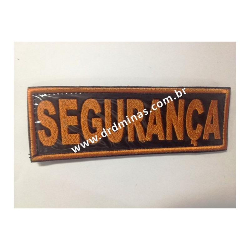 Etiqueta Bordado Segurança - II - U  15 x 5