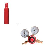 Cilindro De Acetileno 1kg + Regulador De Acetileno W23