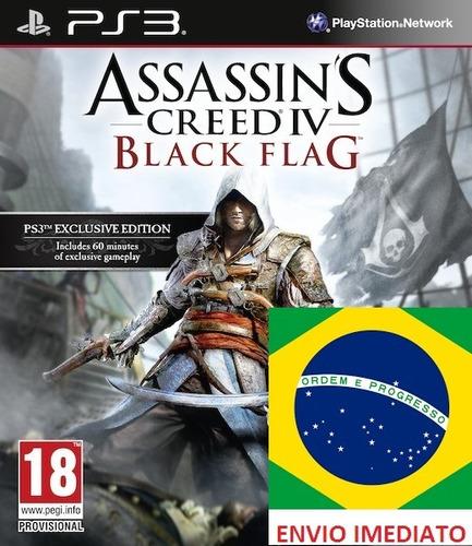 Assassins Creed 4 Black Flag Portugues - Ps3 Psn Digital
