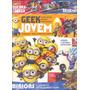 Geek Jovem Minions Super Heróis Mangas Dinossauros