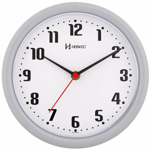 c46d28fb2b0 Comprar 6102 - Relógio De Parede Herweg Original Novo Branco + Nf - Apenas  R  32