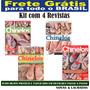 Kit 4 Revista Chinelos Decorados Artesanato Frete Grátis