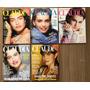 Lote Com 05 Edições Da Revista Claudia, Ano De 1987
