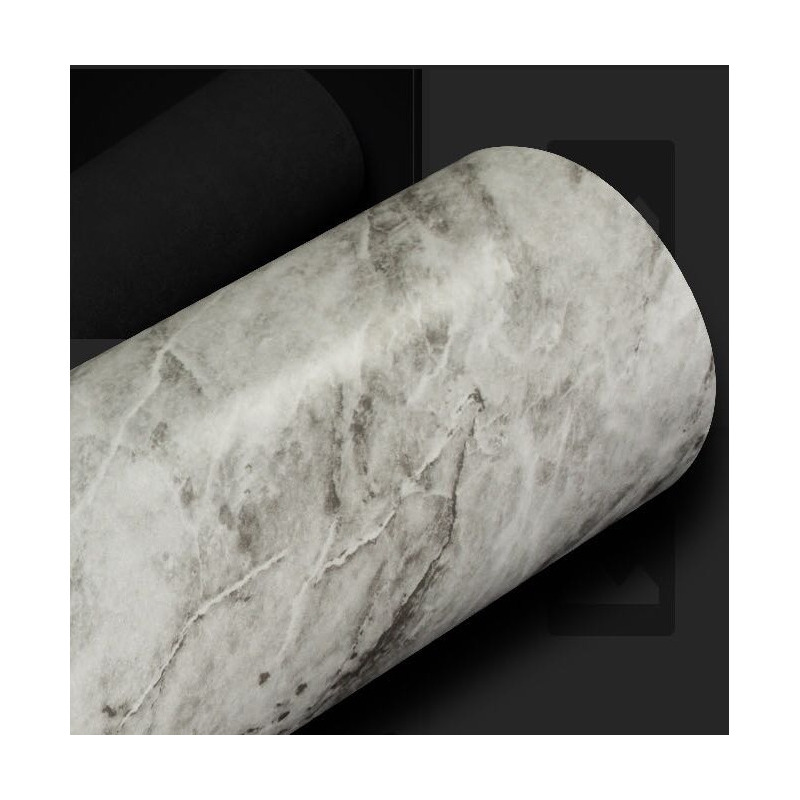 Adesivo para parede mármore carrara Larg. 1,22 m