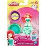 Conjunto Massinhas Playdoh Princesas Disney Ariel