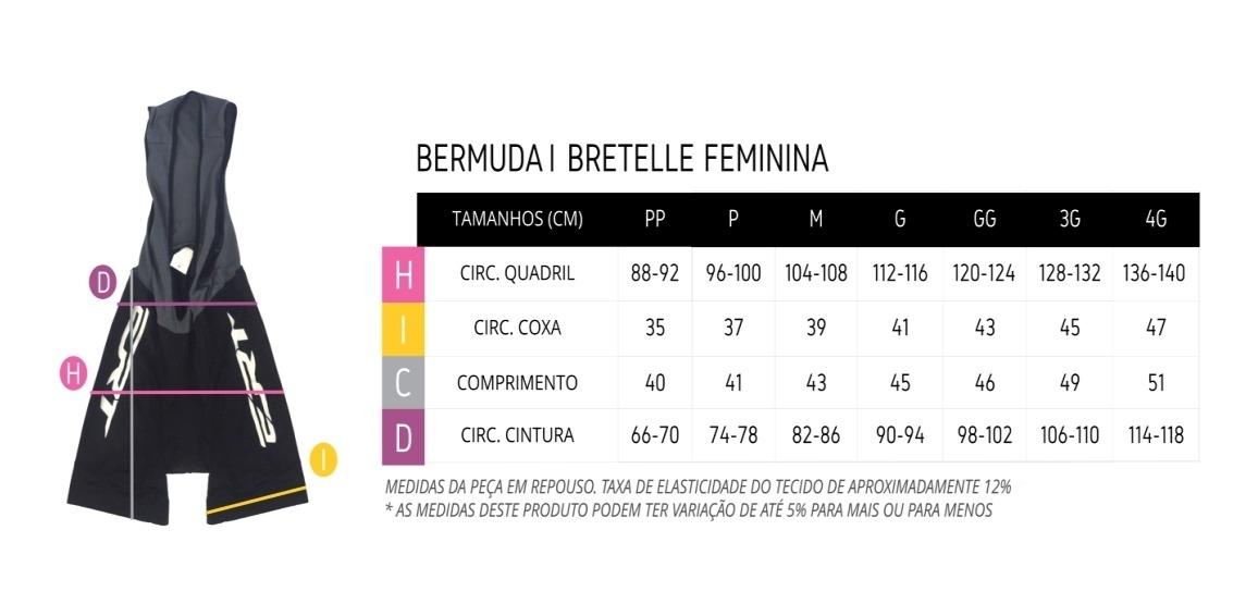 Bermuda Ciclismo Mtb Ert Elite Forro Gel Racing Feminino
