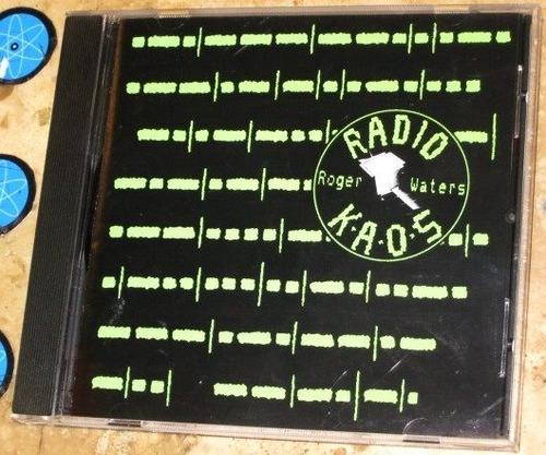 Cd Roger Waters ( Pink Floyd ) - Radio Kaos (1987) Original