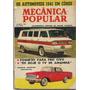 Mecânica Popular Janeiro 1961 Caminhonete Corvair De Motor T