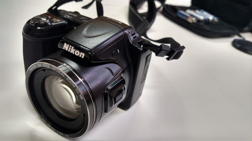 Máquina Fotográfica Nikon Preto Avançada Excelente Estado Original
