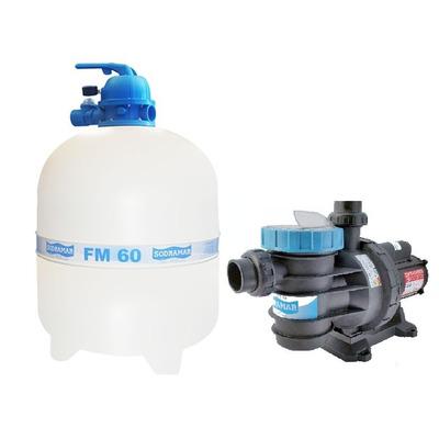 Kit filtro para piscina modelo fm 60 bomba bm 100 motor for Motor piscina