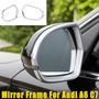 2x Chrome Porta Espelho Retrovisor Decorador Quadro Capa Gua