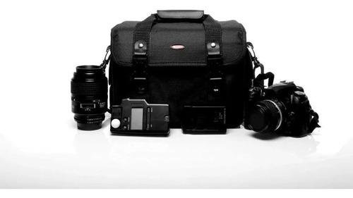 Bolsa Canon,case West Olimpic Iii Nikon/sony Dslr Original