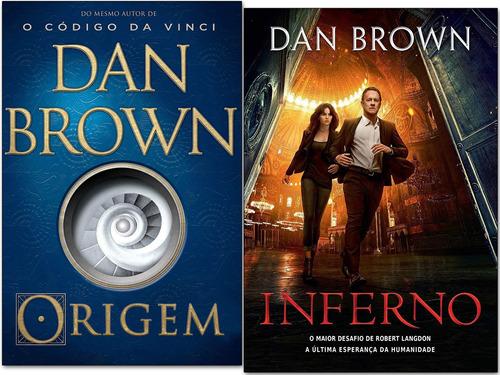 Livro Origem + Inferno - Dan Brown - Novo E Lacrado  Original