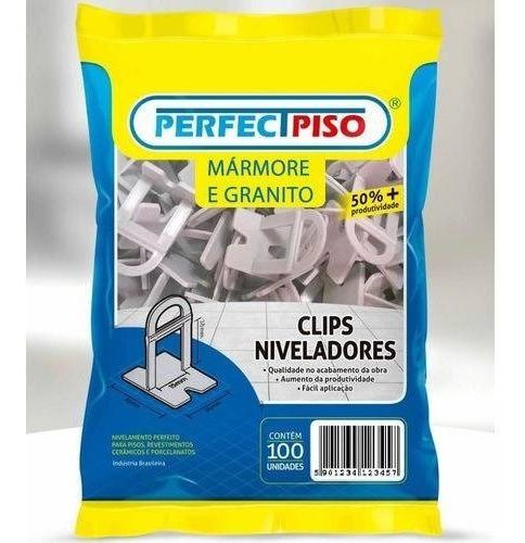 Nivelador De Granito 200 Clips 1.0 Mm + 100 Cunhas Original