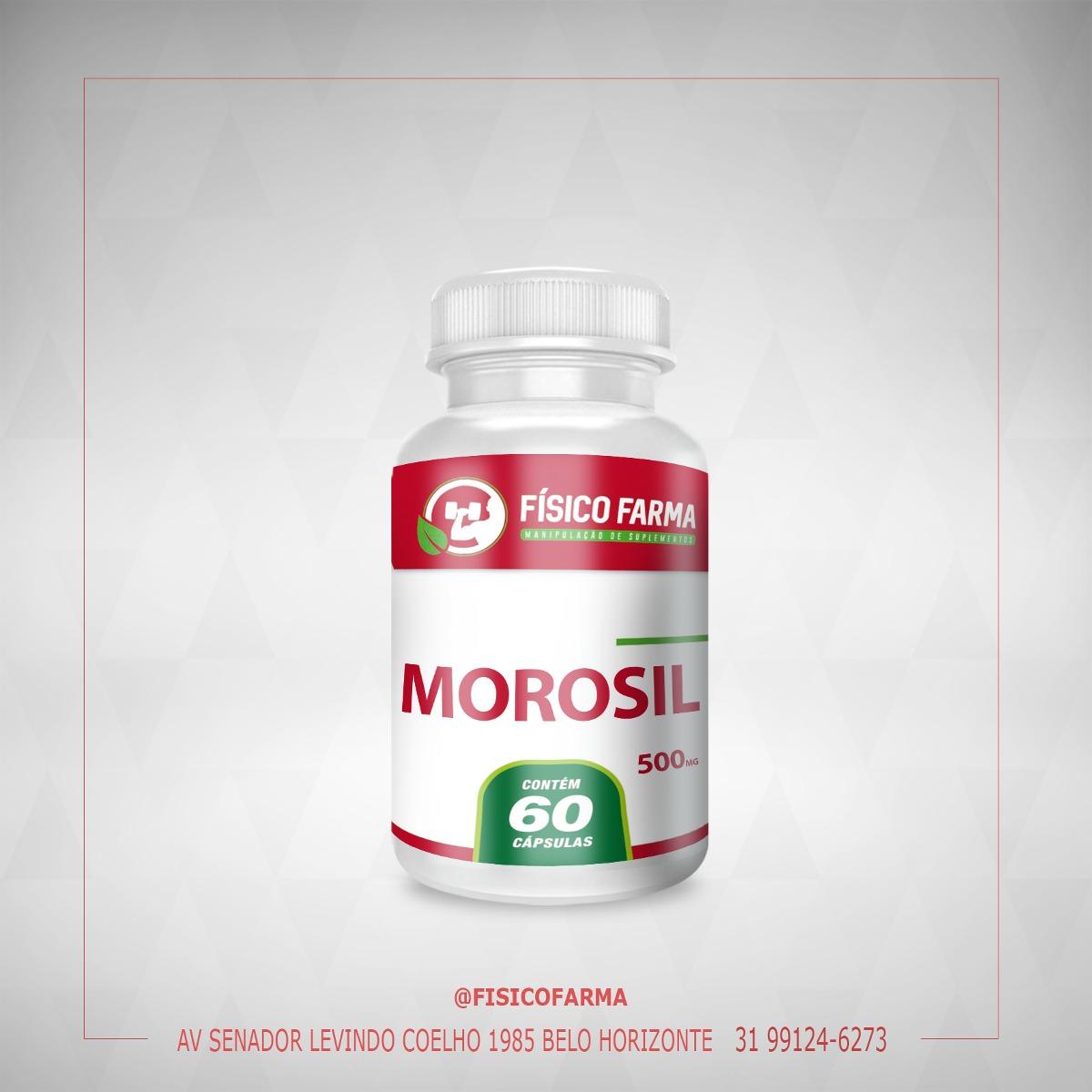 MOROSIL 500mg 60 Cápsulas