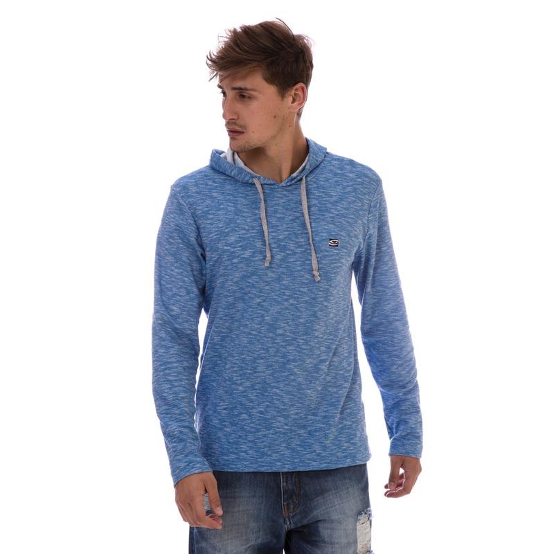 Camiseta Manga Longa LI Azul