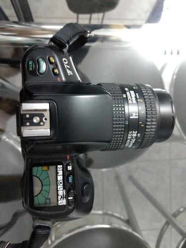Câmera Analógica Nikon F70 Mais 1 Lente 28-70mm Original