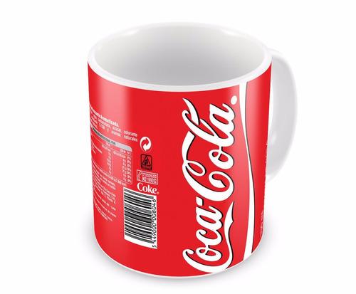 Caneca de Porcelana Coca Cola - Quanto Mais Melhor!