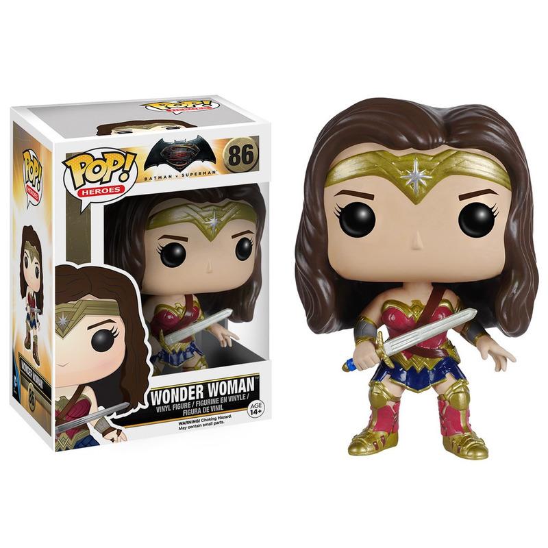 Wonder Woman Pop Funko #86 - Mulher Maravilha - Batman x Superman