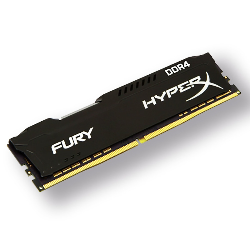 Memória Gamer HyperX Fury Black 4gb DDR4 2400Mhz CL15 Original