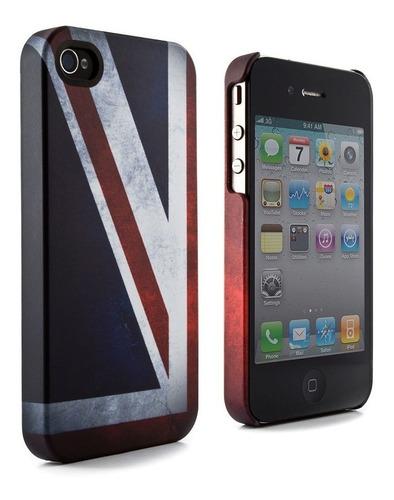 Case Capinha Bandeira Inglaterra Uk Reino Unido P/ iPhone 4 Original