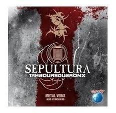 Cd Sepultura Tamboursoubronx Alive In Rock In Rio Original
