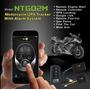 Rastreador Gps Bloqueador Ntg02m P/ Moto Sem Mensalidade