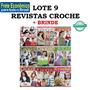 Kit 9 Revistas Croche Especial Roupa Acessorio