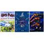 Kit Livros Harry Potter Ilustrados Em Inglês 3 Livros
