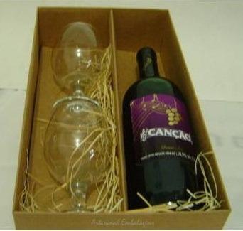 Embalagem De Vinho Ou Mini Vinho P/ Padrinhos Pct/ 10 Unds!!
