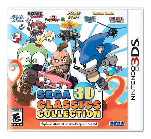 Sega 3d Classics Collection - 3ds - Novo - Pronta Entrega Original