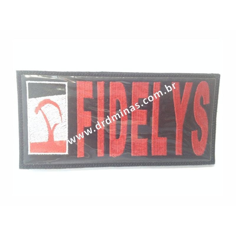 Etiqueta Bordada FIDELYS - 9 x 18