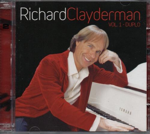 Cd Richard Clayderman - Vol 01 Duplo Original