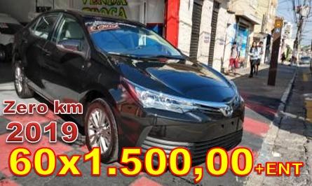Toyota Corolla 1.8 Gli Upper Trabalhe No Uber Black