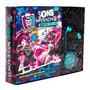 Livro Monster High Sons Horripilantes Atividades Fone