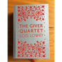 Livro The Giver Quartet Capa Dura Vermelho Coleção