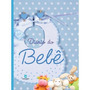 Diário Do Bebê Azul Gravidez Presente Chá De Bebês Grav
