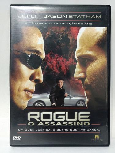 Dvd Rogue - O Assassino - Jason Statham / Jet Li - Original