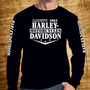 Camiseta Harley Davidson Usa Edição Premium Moto Harley