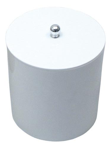 Lixeira Branca Para Cozinha Capacidade 6,2 Litros Original