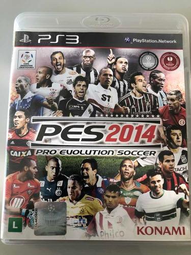 Pes 2014 Pro Evilution Soccer Ps3 Midia Física Original