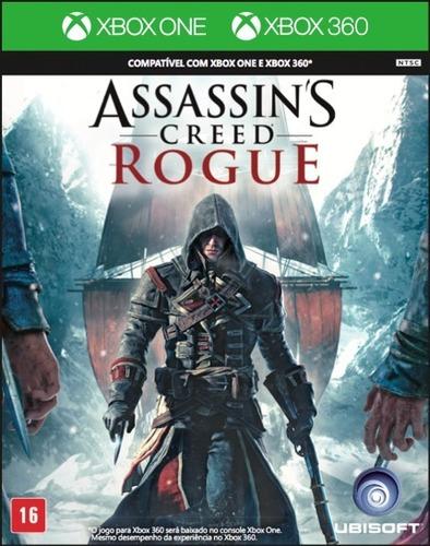 Assassins Creed Rogue Xbox 360 Dvd  Português Física Original