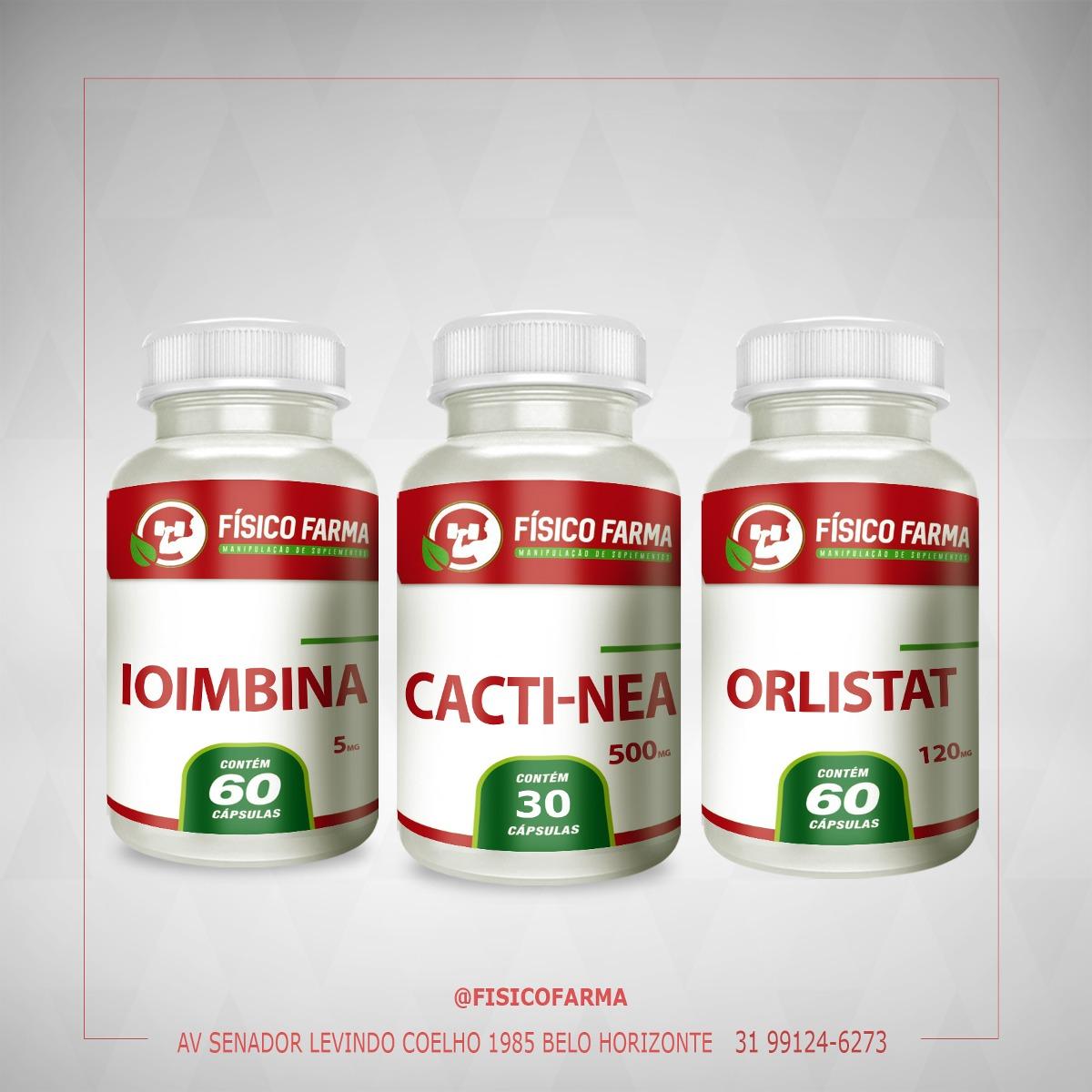 IOIMBINA 5mg 60 Cápsulas + Cacti Nea 500mg 30 C&aa...