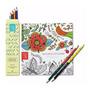 Livro Para Colorir Natura Crer Para Ver Em Cores 6 Lápis