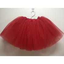 2e66e8436c Comprar Saia Tutu Balé Ballet Fantasias Variada Tule Vermelha Adulto