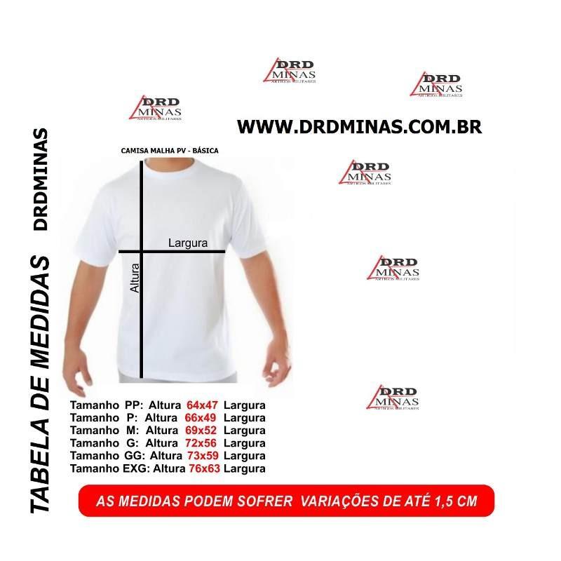 Camisa Polícia Penal - DEPEN - Modelo 1 - Preta  Bordada