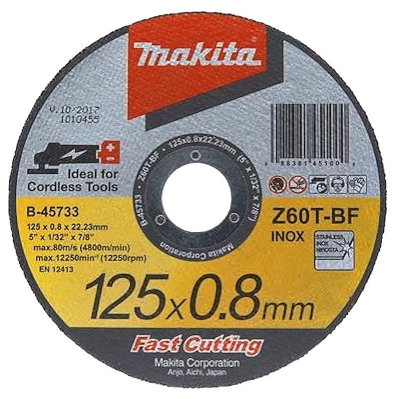 Disco de Corte Abrasivo 'Fast Cutting' 125x0.8x22,23mm - Makita