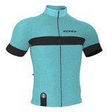 Camisa Ciclismo Mtb Speed Ert Nova Tour Strip Azul