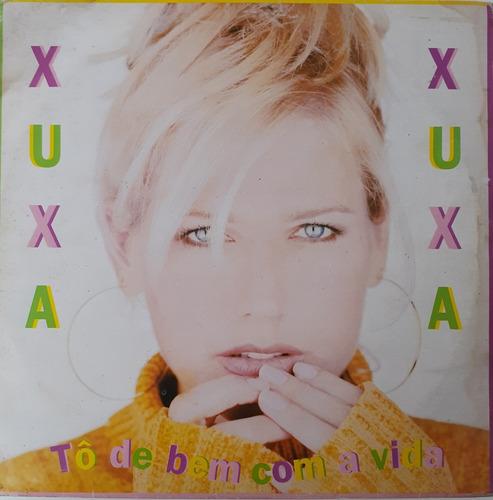 Lp Xuxa - Tou De Bem Com A Vida Lado (1 Faixa Lado A 1 Pulo) Original